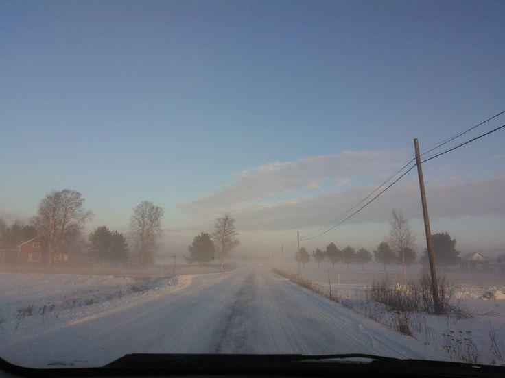 Winterday in Tjöck Finland !