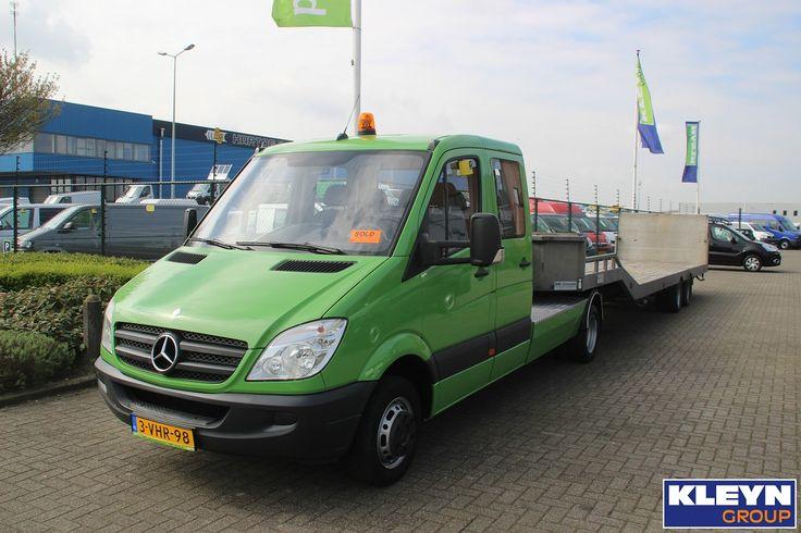 Verkocht! Deze combinatie wordt binnenkort ingezet voor het transport van grasmaaiers.