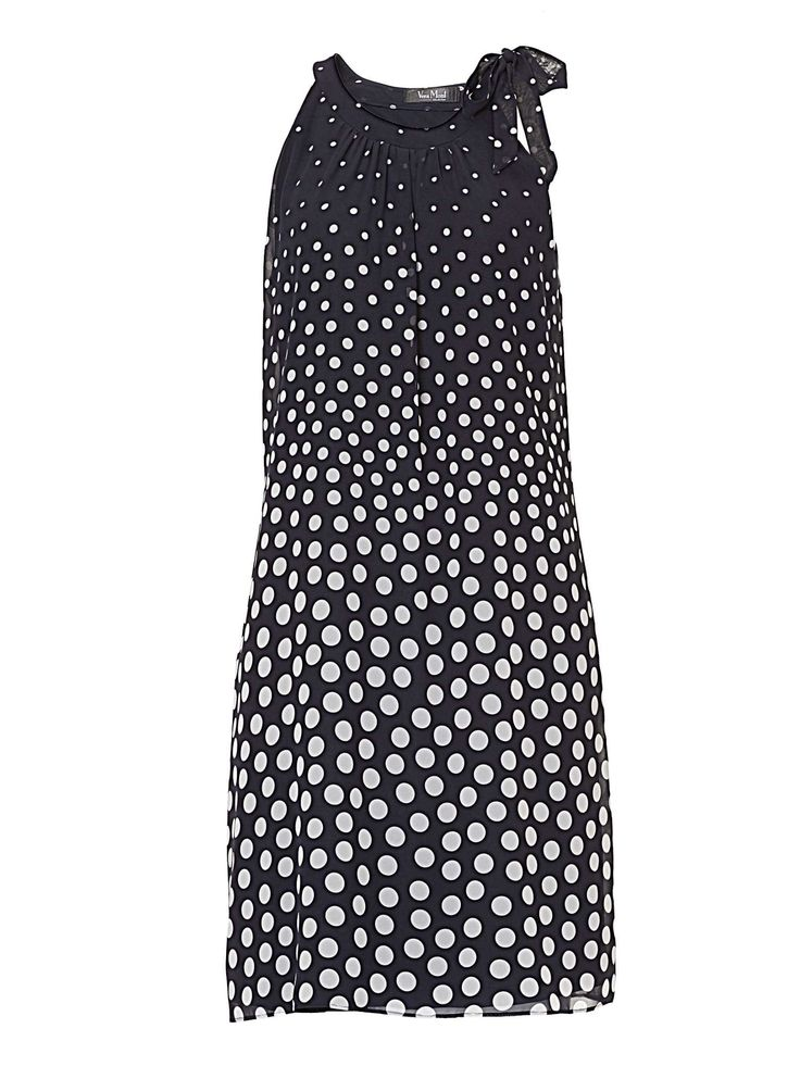 Buy your Vera Mont Polka Dot Dress With Neck Tie online now at House of Fraser. Why not Buy and Collect in-store?