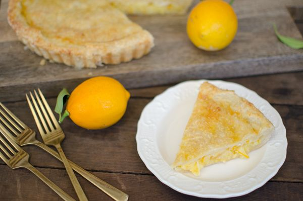 Tartine Lemon Shaker Pie Recipe with Meyer Lemons 🍋