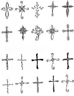 Feminine Cross Tattoos - Bing Images