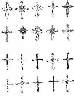 Feminine Cross Tattoos - Bing Images