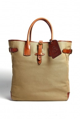 Khaki Twill Sportsman Tote by Polo Ralph Lauren