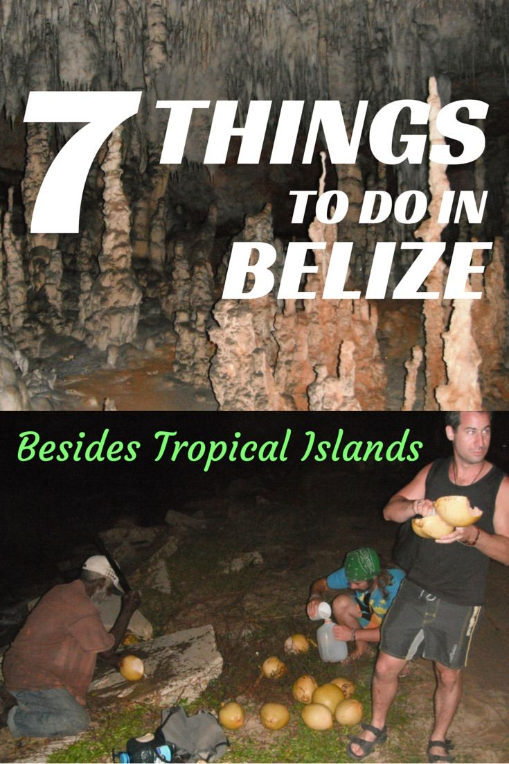 Belize is not all about islands there is so much more! Don't neglect the mainland, there is so much to explore. So if you're planning a trip to Belize, why not take some extra time and check out these places. #belize #traveltips #centralamerica