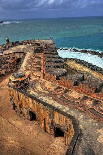 El Morro Castle . San Juan.