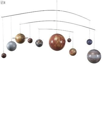 Authentic Models 太陽系モビール
