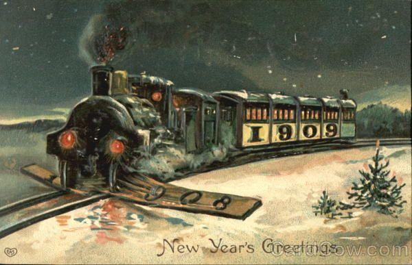 stara-kartka-noworoczna-pociag.jpg (600×387)