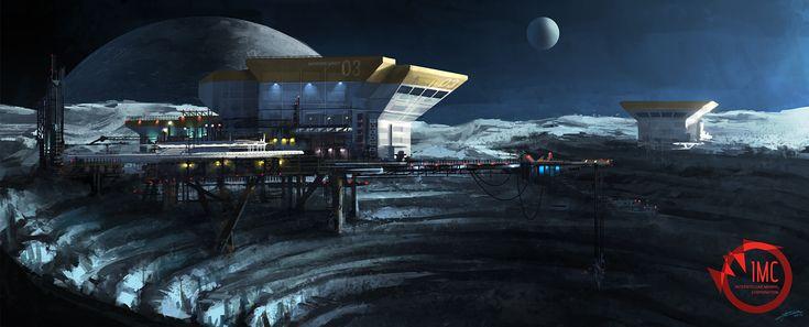 Asteroid mining by ARTek92.deviantart.com on @deviantART