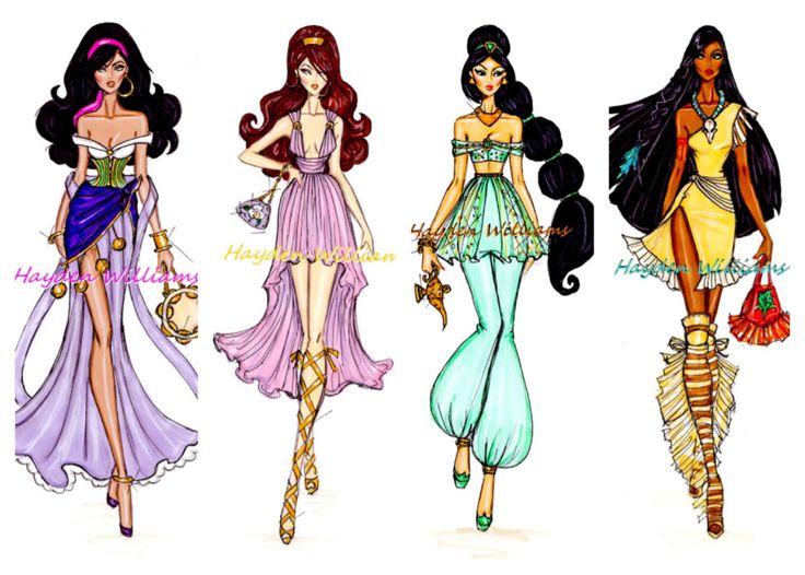 Disney High Fashion Fashion Sketch Pinterest High