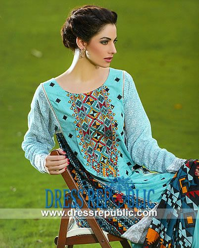 Lala Textile Designer Lawn n Cotton Eid Collection 2014  Sana and Samia Designer Lawn n Cotton Dresses Collection for Eid 2014. by www.dressrepublic.com