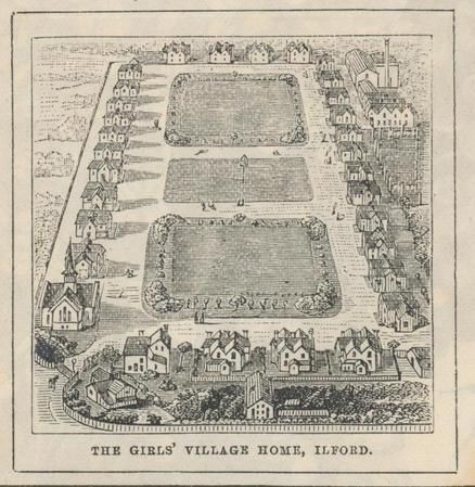 Barnardo's Barkingside Home - The Girls' Village Home - Ilford, Essex, England