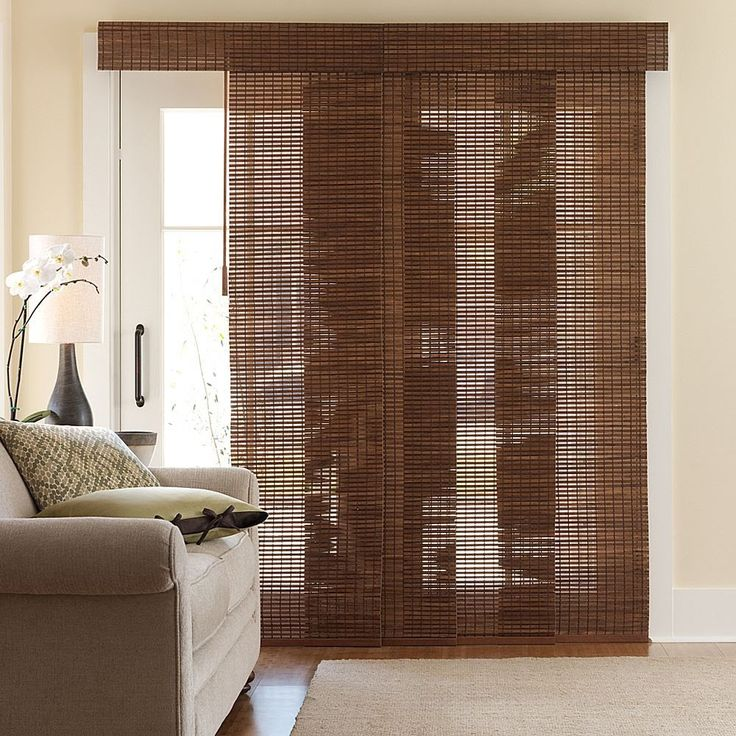Lovely Bamboo Sliding Panels For Patio Doors