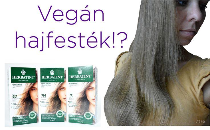 Vegán hajfesték, amely Magyarországon is kapható. Termékteszt