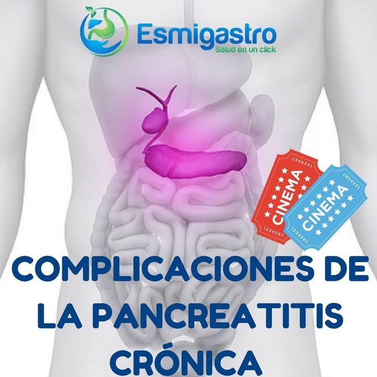 Complicaciones de la pancreatitis crónica