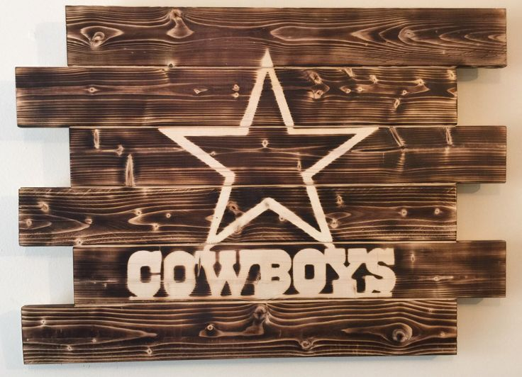 Dallas Cowboys football man cave wood sign by MonogramedMemories on Etsy https://www.etsy.com/listing/253208191/dallas-cowboys-football-man-cave-wood