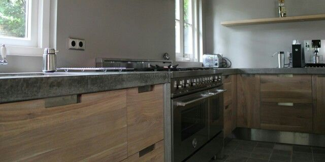 Betonnen keukenblad (koak design)