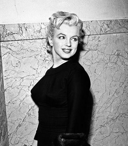 """ Marilyn Monroe in 1956. """