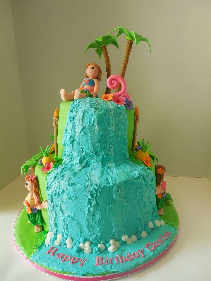 Hula Girl Cake Design : Best 25+ Hula girl cakes ideas on Pinterest