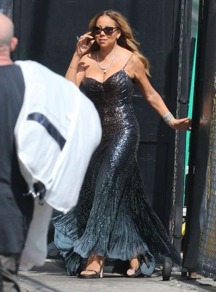 Mariah Carey Photos - Mariah Carey Visits 'Jimmy Kimmel Live!' - Zimbio