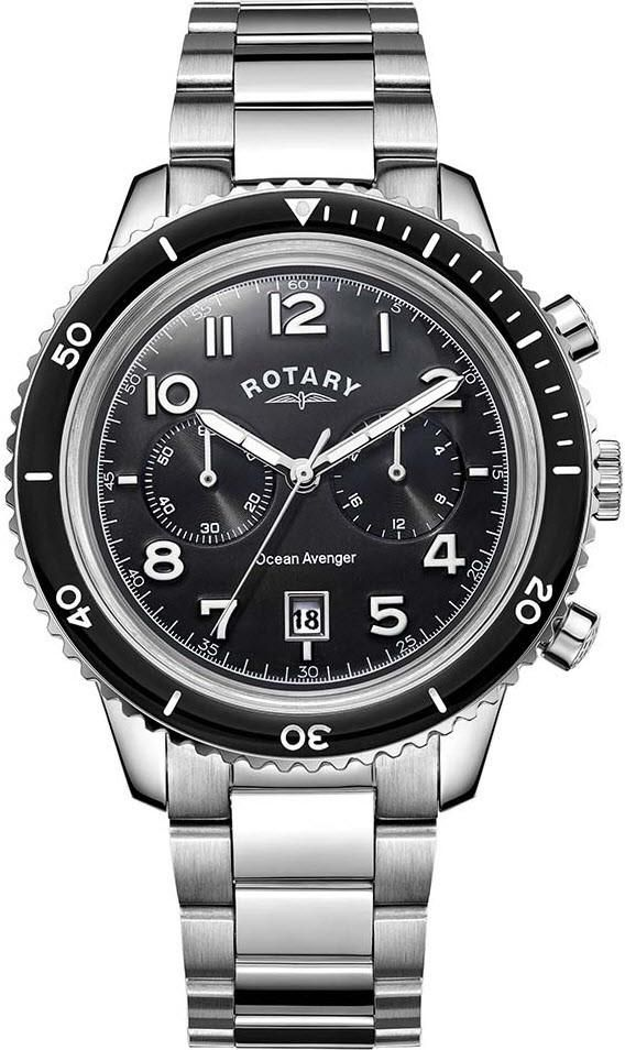Rotary Watch Ocean Avenger Mens #add-content #bezel-unidirectional #bracelet-strap-steel #brand-rotary #case-depth-12-7mm #case-material-steel #case-width-44mm #chronograph-yes #classic #date-yes #delivery-timescale-1-2-weeks #dial-colour-black #discount-code-allow #gender-mens #movement-quartz-battery #official-stockist-for-rotary-watches #packaging-rotary-watch-packaging #style-dress #subcat-mens #supplier-model-no-gb05021-04 #warranty-rotary-official-lifetime-guarantee…