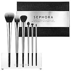 needing new makeup brushes.. .this Collector's Edition I.T. Brush set looks nice!: Brushes Sets, Editing I T, Collector Editing, Makeup Collection, Sephora I T, Sephora Collection, Cosmetics Brushes, Makeup Brushes, Collection Collector