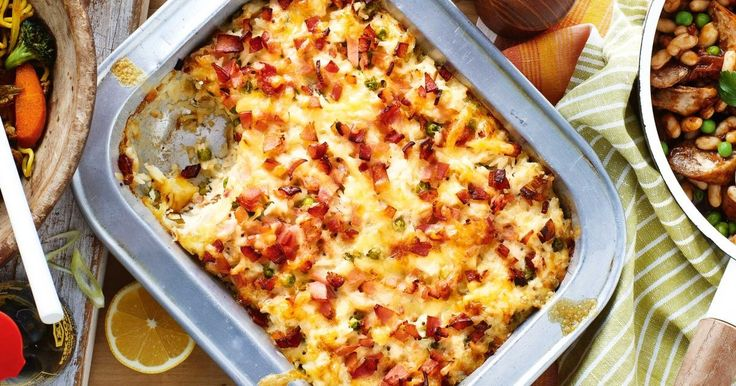 For stress-free midweek dining, try this crunchy tuna and rice bake.