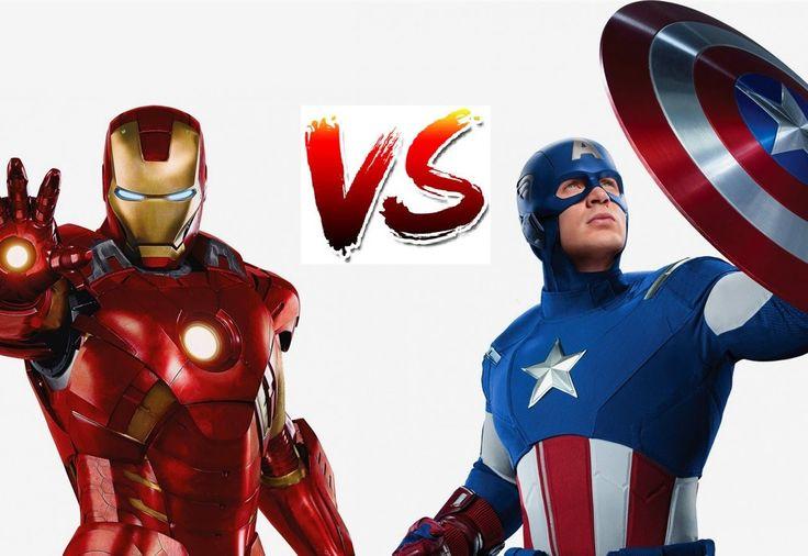 Железный человек и Капитан Америка  Противостояние  Мультик для детей  О...