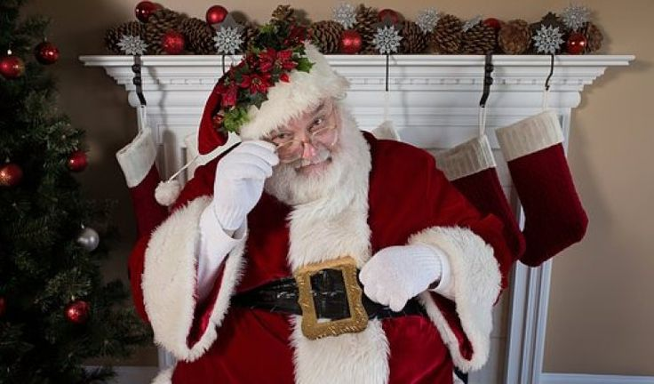 merry christmas santa images