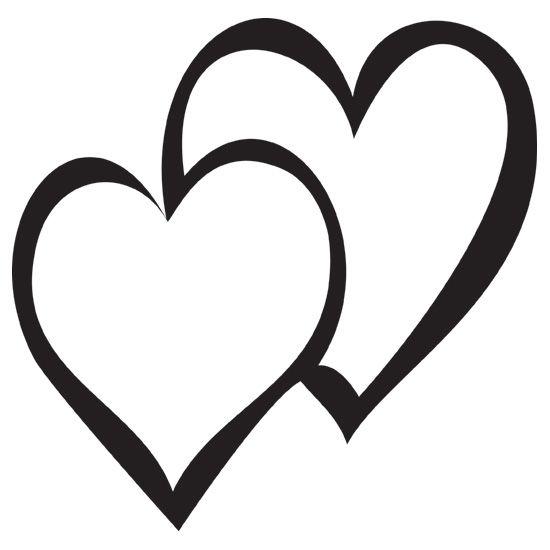 pio5oReaT.jpg 550×550 pixels   Black and white heart, Clip ...