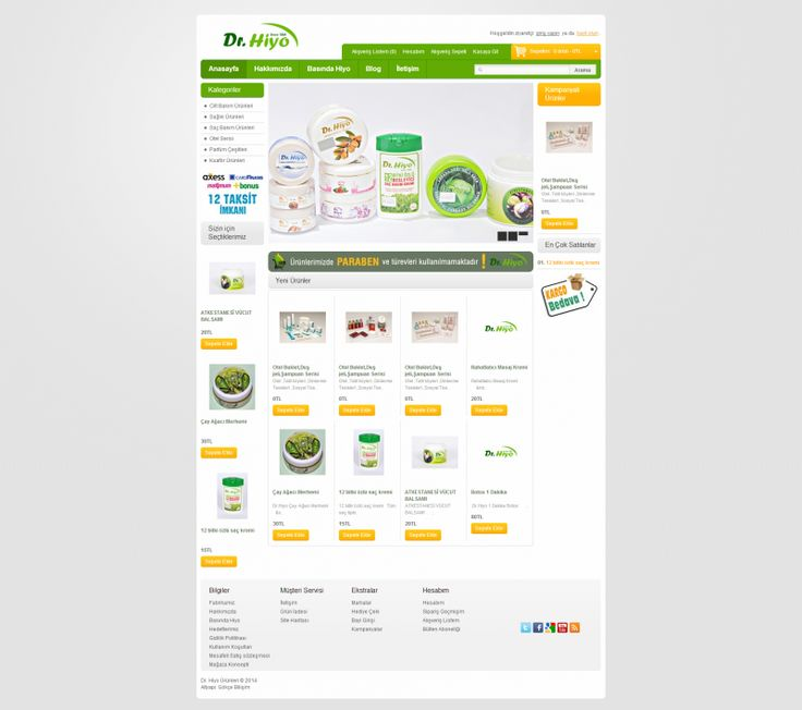 http://www.gustobilisim.com.tr/referanslar Firma: Dr. Hiyo Dünyası Proje: Web Tasarım
