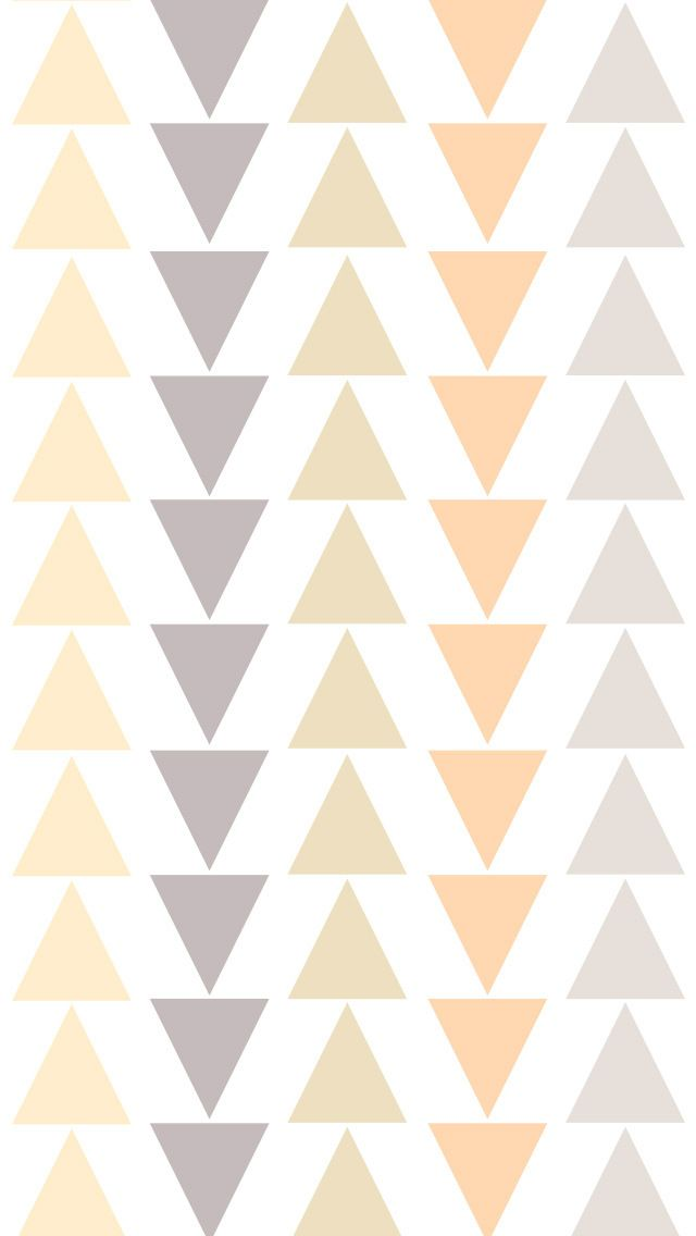 Cute Zig Zag Wallpapers Simple Triangle Pattern Iphone Wallpaper Lock Screen