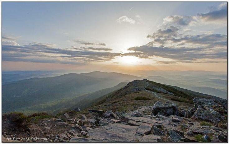 Babia Góra, Poland Beskidy Mountains. Sunrise by Dominika Dąbrowska from https://www.facebook.com/parkinarodowe?ref=stream