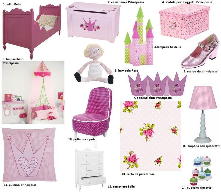 Cameretta Principessa ~ Idee per interior design e mobili