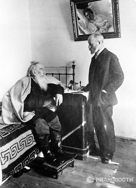 Лев Толстой и его врач