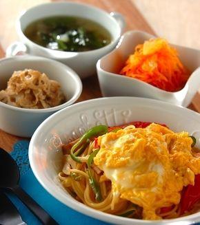 フワトロ卵のナポリタン」の献立・レシピ - 【E・レシピ】料理のプロが ... フワトロ卵のナポリタンの献立