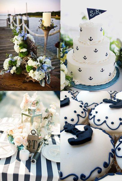 sea style wedding  Свадьба в морском стиле