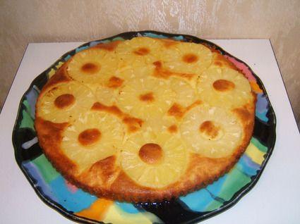 Gateau a l'ananas et au caramel de jean pierre coffe