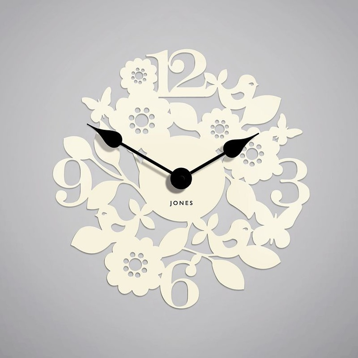 Very cute Newgate Bliss wall clock from John Lewis