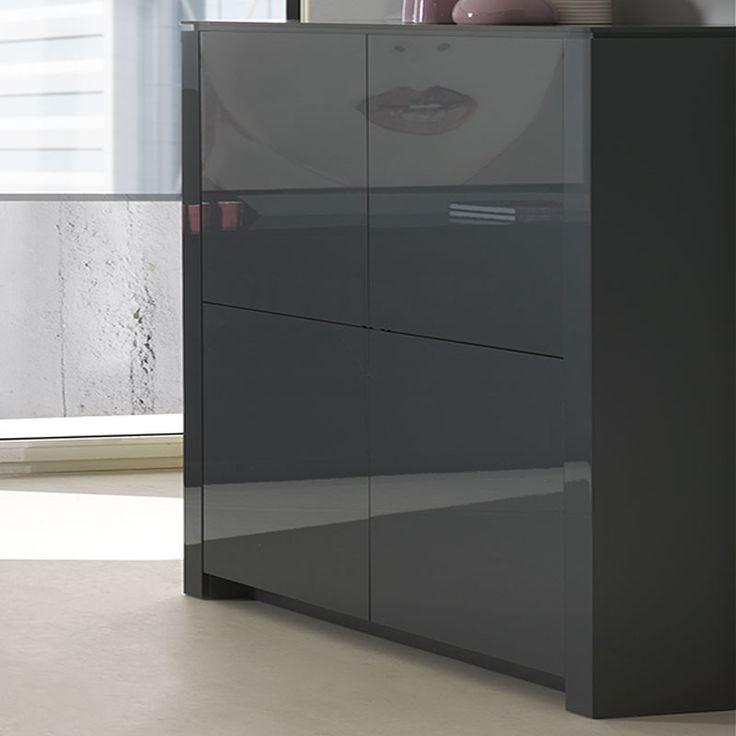17 best images about buffet haut moderne design. Black Bedroom Furniture Sets. Home Design Ideas