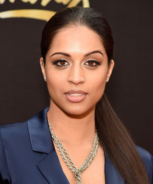 The Best Looks From the 2016 MTV Movie Awards: Comedienne Lilly Singh bucked the beachy trend with an ultra-sleek ponytail and flawless tightliner.   | allure.com