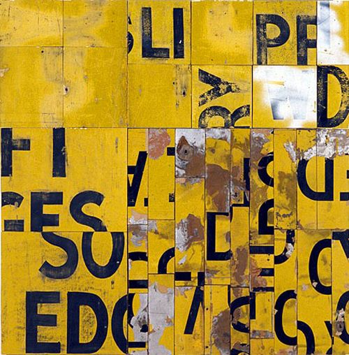 typographic art work
