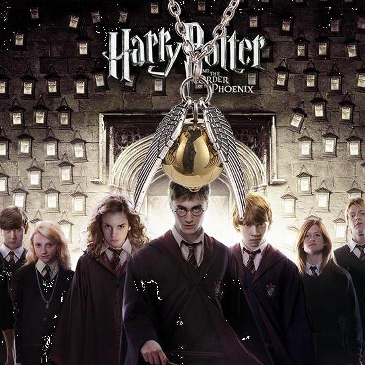 Гарри Поттер и дары смерти, ожерелье золотой снитч