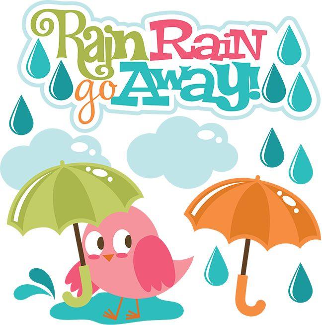 Rain Rain Go Away SVG Scrapbook Collection svg files for scrapbooking cardmaking