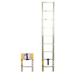 Xtend & Climb 8.5 ft. Telescoping Aluminum Extension Ladder with 225 lb. Load Capacity Type II Duty rating 750P at The Home Depot - Mobile
