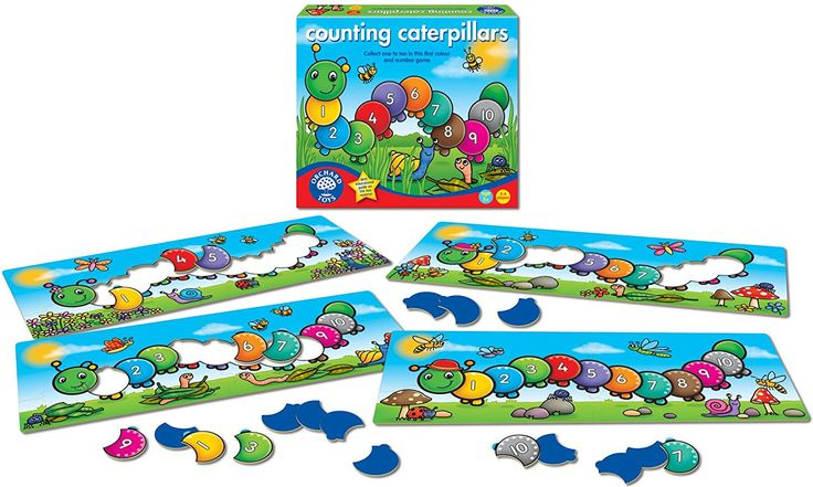 Orchard Counting Caterpillars