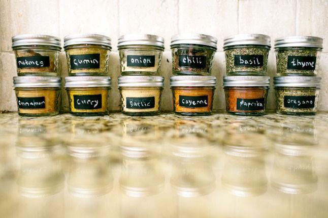 bulk spice jars
