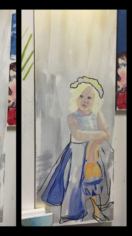 Oil painting - Jen Hoddinott