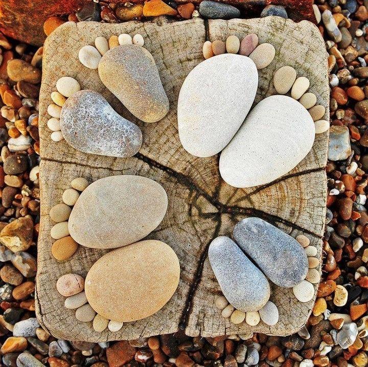 Rock feet.