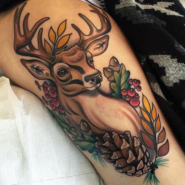 best 20 deer tattoo ideas on pinterest deer drawing