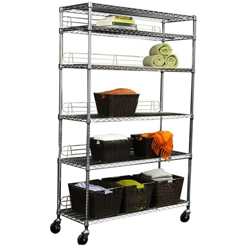 costco garage storage racks i picked up several of these silver metal wire shelving 14103